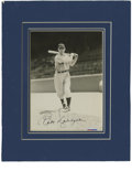 Autographs:Photos, Babe Dahlgren Single Signed Photograph. Babe Dahlgren was ajourneyman first baseman who played for eight teams from 1935 t...