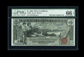 Large Size:Silver Certificates, Fr. 225 $1 1896 Silver Certificate PMG Gem Uncirculated 66 EPQ....