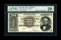 Large Size:Silver Certificates, Fr. 328 $50 1880 Silver Certificate PMG Very Fine 20....