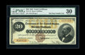 Large Size:Gold Certificates, Fr. 1174 $20 1882 Gold Certificate PMG Very Fine 30....