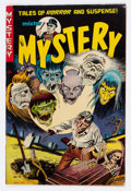 Golden Age (1938-1955):Horror, Mister Mystery #10 (Aragon, 1953) Condition: FN+....
