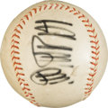 "Baseball Collectibles:Balls, 1970's Signed Sadaharu Oh ""800"" Single Signed Baseball -Autographed in Both English and Japanese. ..."