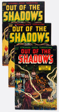 Golden Age (1938-1955):Horror, Out Of The Shadows #7 and 8 Group of 3 (Standard, 1953) Condition:Average VG-.... (Total: 3 Items)