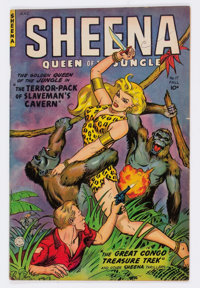 Sheena, Queen of the Jungle #17 (Fiction House, 1952)