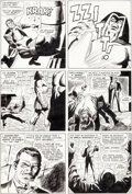 Original Comic Art:Panel Pages, Jack Kirby, John Buscema, and Frank Giacoia Strange Tales#150 Story Page 10 Agents of S.H.I.E.L.D. Original Art (...