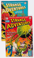 Golden Age (1938-1955):Science Fiction, Strange Adventures #6 and 30 Group (DC, 1951-53) Condition: AverageVG+.... (Total: 2 Comic Books)