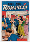 Golden Age (1938-1955):Romance, Teen-Age Romances #17 (St. John, 1951) Condition: VG....
