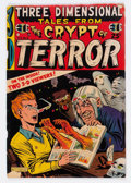 Golden Age (1938-1955):Horror, Three Dimensional Tales from the Crypt of Terror #2 (EC, 1954)Condition: GD/VG....