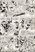 Original Comic Art:Panel Pages, Neal Adams, Tom Palmer, and Alan Weiss Avengers #96 StoryPage 12 Original Art (Marvel, 1972)....