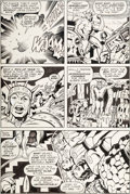 Original Comic Art:Panel Pages, Jack Kirby, Mike Royer, and Bill Wray What If? #11 Page 31Original Art (Marvel, 1978)....