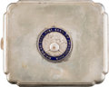 Baseball Collectibles:Others, 1911 Philadelphia Athletics Cigarette Case....