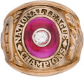 Baseball Collectibles:Others, 1961 Cincinnati Reds National League Championship Ring Presented toPhil Seghi. ...
