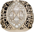 Football Collectibles:Others, 1989 San Francisco 49ers Super Bowl XXIV NFL Championship Ring....