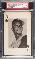 Baseball Cards:Singles (1960-1969), 1962 Pittsburgh Exhibits Roberto Clemente PSA EX 5....