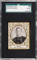 Baseball Cards:Singles (Pre-1930), 1909 T204 Ramly Walter Johnson SGC 82 EX/NM+ 6.5....