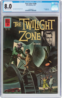 Four Color #1288 The Twilight Zone (Dell, 1962) CGC VF 8.0 Cream to off-white pages