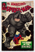Silver Age (1956-1969):Superhero, The Amazing Spider-Man #41 (Marvel, 1966) Condition: VG+....