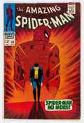 Silver Age (1956-1969):Superhero, The Amazing Spider-Man #50 (Marvel, 1967) Condition: VG-....