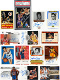 Autographs:Sports Cards, NBA's Fifty Greatest Players Signed Trading Cards Complete Set of 50. ...