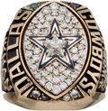 Autographs:Baseballs, 1992 Dallas Cowboys Super Bowl XXVII Championship Salesman's Sample Ring....