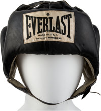 """Circa 1974 Muhammad Ali Headgear Used in Training for """"The Rumble in the Jungle."""""""