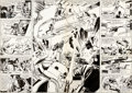 Original Comic Art:Panel Pages, Gene Day and Tom Palmer Star Wars #69 Splash Pages 16 and 17Original Art (Marvel, 1982).... (Total: 2 Original Art)