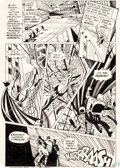 Original Comic Art:Panel Pages, Alex Toth and Terry Austin Superman Annual #9 Page 22Original Art (DC, 1983)....