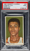 Boxing Cards:General, 1960 Hemmets Journal Cassius Clay (Muhammad Ali) Rookie #23 PSAMint 9. ...