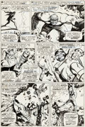 Original Comic Art:Panel Pages, Marie Severin, George Tuska, and Syd Shores Incredible Hulk #102 Page 18 Original Art (Marvel, 1968)....
