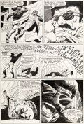 Original Comic Art:Panel Pages, Jack Sparling Unexpected #112 Story Page 9 Original Art (DC, 1969)....