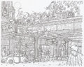 Original Comic Art:Splash Pages, Geof Darrow Daredevil #500 Pin-Up Original Art (Marvel,2009)....