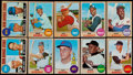 Baseball Cards:Sets, 1968 Topps Baseball Complete Set (598)....