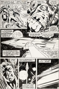 Original Comic Art:Panel Pages, Neal Adams, Tom Palmer, and Alan Weiss Avengers #96 Story Page 14 Original Art (Marvel, 1972)....