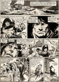 Original Comic Art:Panel Pages, Gil Kane and Neal Adams Savage Tales #4 Story Page 4 Conanthe Barbarian Original Art (Marvel, 1974)....