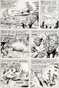 Original Comic Art:Panel Pages, Murphy Anderson Hawkman #20 Story Page 5 Original Art (DC,1967)....