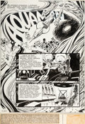 Original Comic Art:Splash Pages, Jim Aparo Aquaman #52 Splash Page 1 Original Art (DC,1970)....