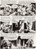 Original Comic Art:Panel Pages, Graham Ingels (as Ghastly) Haunt of Fear #20 Story Page 2Original Art (EC, 1953)....