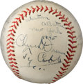 """Baseball Collectibles:Balls, 1945 Ty Cobb Signed """"Esquire's All-America Game"""" Baseball.. ..."""