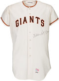 Baseball Collectibles:Uniforms, 1970 Willie McCovey Game Worn San Francisco Giants Jersey, MEARS A9.5....