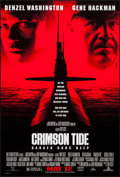 "Movie Posters:War, Crimson Tide & Others Lot (Buena Vista, 1995). One Sheets (3)(27"" X 40"") & Video One Sheet (27"" X 40""). DS & SS Advanceand... (Total: 4 Items)"