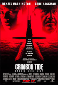 "Crimson Tide & Others Lot (Buena Vista, 1995). One Sheets (3) (27"" X 40"") & Video One Sheet (2..."