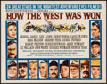 """Movie Posters:Western, How the West was Won (MGM, 1963). Half Sheet (22"""" X 28"""") Style B. Western.. ..."""