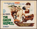 """Movie Posters:Sports, The Green Helmet (MGM, 1961). Half Sheet (22"""" X 28"""") & Lobby Card Set of 8 (11"""" X 14""""). Sports.. ... (Total: 9 Items)"""