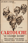 """Movie Posters:Foreign, Cartouche (Les Films, 1934). French Petite (15.5"""" X 23.5""""). Foreign.. ..."""