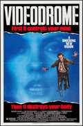 "Movie Posters:Fantasy, Videodrome (Universal, 1983). One Sheet (27"" X 41""), French LobbyCard (9"" X 12""), & Spanish Lobby Card (9"" X 13""). Fantasy....(Total: 3 Items)"