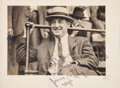 """Basketball Cards:Singles (1970-1979), 1916 """"Wild Bill"""" Donovan Signed Photograph from The Frank W. SmithCollection, PSA/DNA Type 1.. ..."""