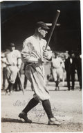 Baseball Collectibles:Photos, 1920 Tris Speaker Signed Photograph from The Frank W. SmithCollection, PSA/DNA Type 1.. ...