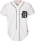 Baseball Collectibles:Uniforms, 1984 Kirk Gibson Game Worn Detroit Tigers Jersey - World Series Season....