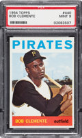 Baseball Cards:Singles (1960-1969), 1964 Topps Roberto Clemente #440 PSA Mint 9 - Only One Higher....