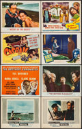 "Movie Posters:Adventure, Moby Dick & Others Lot (Warner Brothers, 1956). Title LobbyCards (6) & Lobby Cards (7) (11"" X 14""). Adventure.. ...(Total: 13 Items)"